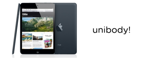iPad mini unibody